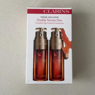 クラランス(CLARINS)の未開封 CLARINS ダブルセーラム 美容液 2本セット(美容液)