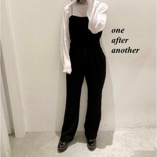 one after another NICE CLAUP - 新品 one after another インナーSETサロペット