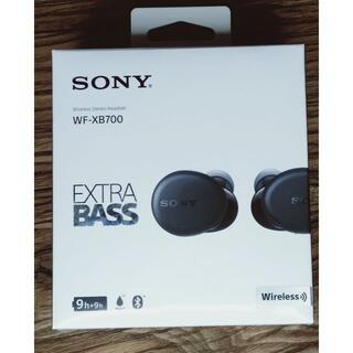 SONY - SONY ワイヤレスステレオヘッドセット WF-XB700 黒 新品未開封