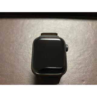 アップルウォッチ(Apple Watch)のApple Watch SE 40mm GPS スペースグレー(腕時計(デジタル))