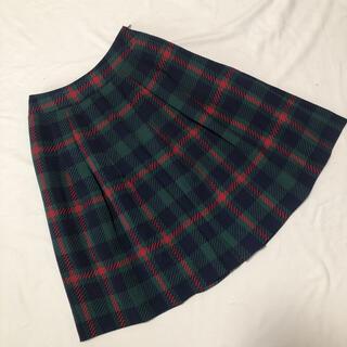 M'S GRACY - エムズグレイシー チェック柄 膝丈スカート 38 細身