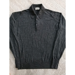 ジョンスメドレー(JOHN SMEDLEY)のJOHN SMEDLEY ジョンスメドレー メリノウール ポロシャツ ニット(ポロシャツ)