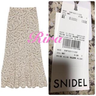 snidel - 完売色🌷新作新品🍀スナイデル バリエプリントマーメイドライクスカート