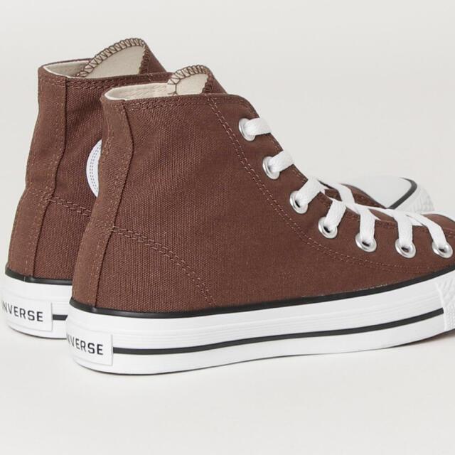 CONVERSE(コンバース)のコンバース ハイカット★ブラウン新品 レディースの靴/シューズ(スニーカー)の商品写真