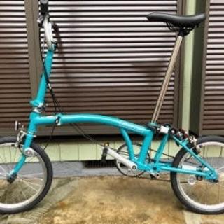 ブロンプトン(BROMPTON)の2021ブロンプトンB75 M3Eスカイブルー新品未使用 Brompton(自転車本体)