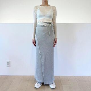 EDIT.FOR LULU - baserangeベースレンジ ラップスカート XS