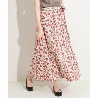 IENA - IENA LA BOUCLE LIBERTY ラップスカート 20SS