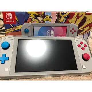 Nintendo Switch - Nintendo switch lite 本体+カセット