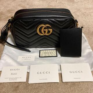 Gucci - GUCCI GGマーモント キルティングショルダーバッグ