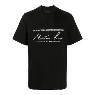ナパピリ(NAPAPIJRI)のmartine rose ロゴTシャツ Mサイズ(Tシャツ/カットソー(半袖/袖なし))