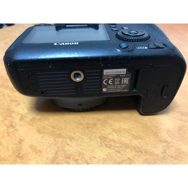 CARON(キャロン)のCanon 6D+純正グリップ スマホ/家電/カメラのカメラ(デジタル一眼)の商品写真