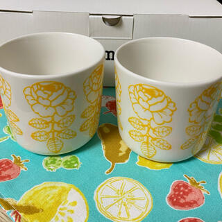 marimekko - marimekko マグカップ 2個セット ヴィヒキルース  新品未使用 箱付き