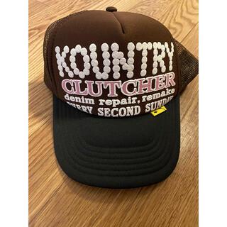 キャピタル(KAPITAL)の完売品 KAPITAL KOUNTRY パールクラッチャーPT トラックCAP(キャップ)