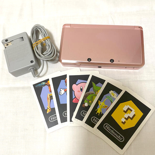 ニンテンドー3DS - Nintendo 3DS 本体/充電器/ARカード/カバー/ソフトケース