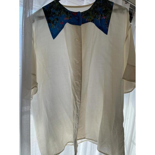 TSUMORI CHISATO(ツモリチサト)のツモリチサト シャツ サイズ2  処分価格 レディースのトップス(Tシャツ(半袖/袖なし))の商品写真