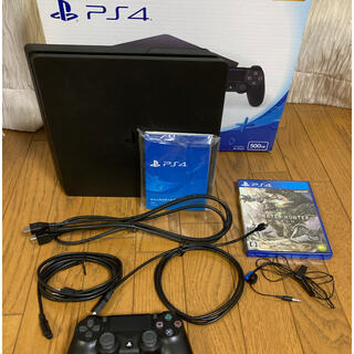 PlayStation4 - SONY PS4 CUH-2100A Jet Black 500GB