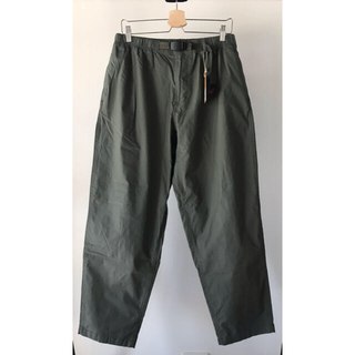 GRAMICCI - Gramicci WEATHER WIDE TAPERED PANTS (XL)