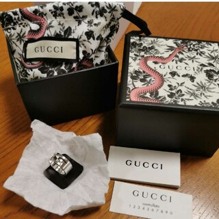 Gucci - GUCCI リング 7号 箱付き