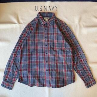 エルエルビーン(L.L.Bean)の00s- LL BEAN ボタンダウン チェックシャツ ヴィンテージ(シャツ)
