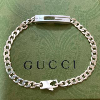 Gucci - GUCCI カットアウトG Gロゴ 喜平チェーン ブレスレット