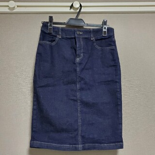 バンヤードストーム(BARNYARDSTORM)のBARNYARDSTORM デニムタイトスカート(ひざ丈スカート)