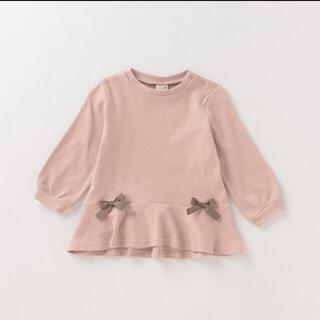 petit main - 新品◆petit main プティマイン ロングペプラム長袖Tシャツ