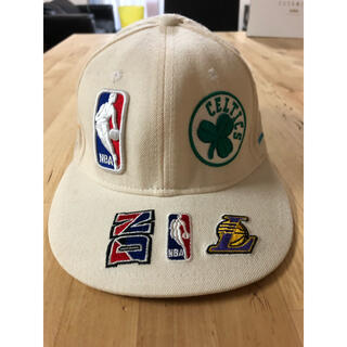NEW ERA - NEW ERA キャップ NBA 総柄 made in USA