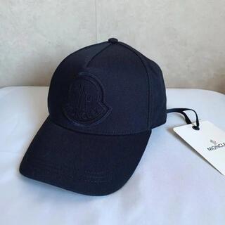 MONCLER - 【新品未使用タグ付き】モンクレール ベースボールキャップ 帽子