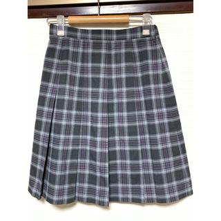 ELLE - 美品 チェック プリーツ スカート 制服 スクール コスプレ 卒業 入学