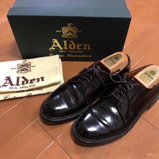 Alden - 美品 オールデン990 バリーラスト6.5D ダークバーガンディ