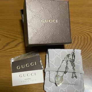 Gucci - グッチ ネックレス ハート