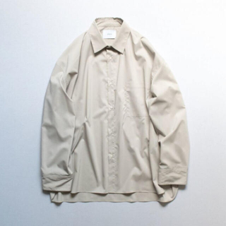 サンシー(SUNSEA)のstein 19aw oversized down pat shirt(シャツ)