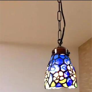 ステンドグラス ランプ アップルブロッサム(天井照明)