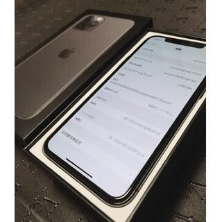 iPhone - 【美品/国内版SIMフリー/バッテリー100%】iPhone11pro