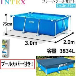 コストコ - 【INTEX インテックス】 ファミリーサイズ フレームプール
