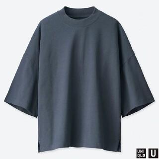 UNIQLO - オーバーサイズスクエアT(五分袖)