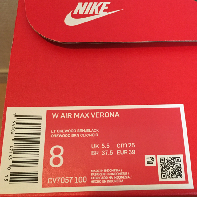 NIKE(ナイキ)の【25.0cm】ナイキ エアマックス ヴェローナ レディースの靴/シューズ(スニーカー)の商品写真