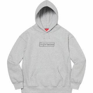 Supreme - Supreme Logo Hooded kaws hoodie パーカー