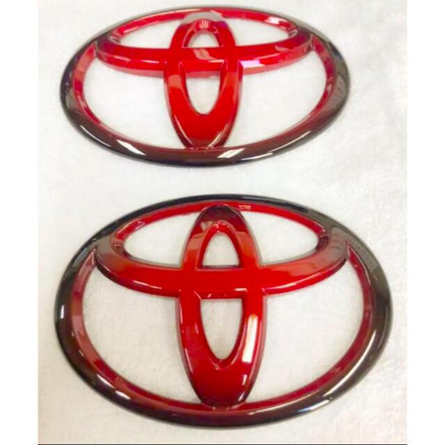 トヨタ(トヨタ)のトヨタ エンブレム ハイエース レジアスエース 自動車/バイクの自動車(車外アクセサリ)の商品写真