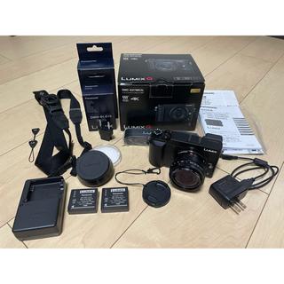 Panasonic - LUMIX DMC-GX7MK2L 単焦点ライカDGレンズキット ブラック