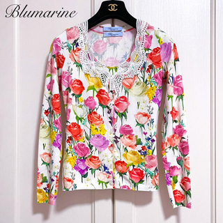 Blumarine - 新品同様【Blumarine】2018SSフローラルレースアンサンブル