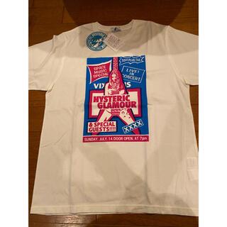 ヒステリックグラマー(HYSTERIC GLAMOUR)の【新品未使用】ヒステリックグラマー Tシャツ tee ホワイト(Tシャツ/カットソー(半袖/袖なし))