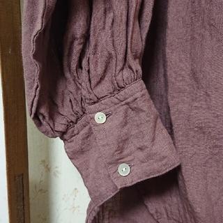ハグオーワー(Hug O War)のハグオーワー、リネンシャツ(シャツ)