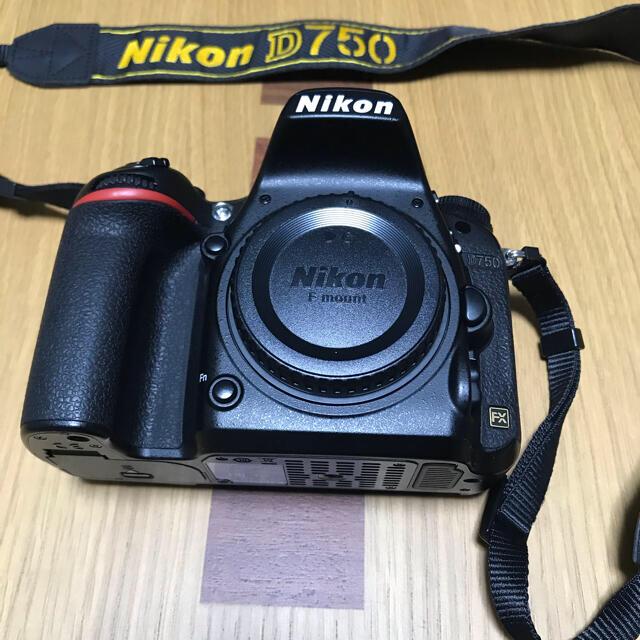 Nikon(ニコン)のNikon D750 ボディ本体 スマホ/家電/カメラのカメラ(デジタル一眼)の商品写真