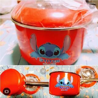 Disney - リロスティッチ赤色レア片手鍋新品未使用