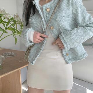 STYLENANDA - 【予約商品】《4カラー》ツイード ジャケット 韓国ファッション 春服