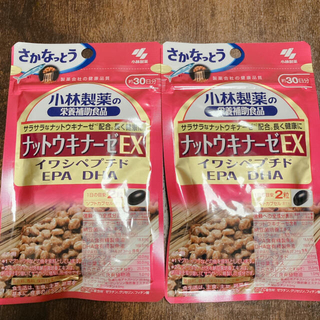 小林製薬 - 新品未開封  小林製薬  ナットウキナーゼ EX  2袋セット