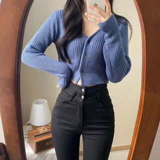 STYLENANDA - 【予約商品】《5カラー》クロップド カーディガン 春服 韓国ファッション