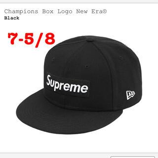 シュプリーム(Supreme)のChampions Box Logo New Era® supreme(キャップ)