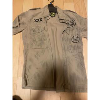 ヒステリックグラマー(HYSTERIC GLAMOUR)のヒステリックグラマー ミリタリーシャツ S  hysteric glamour(Tシャツ/カットソー(半袖/袖なし))